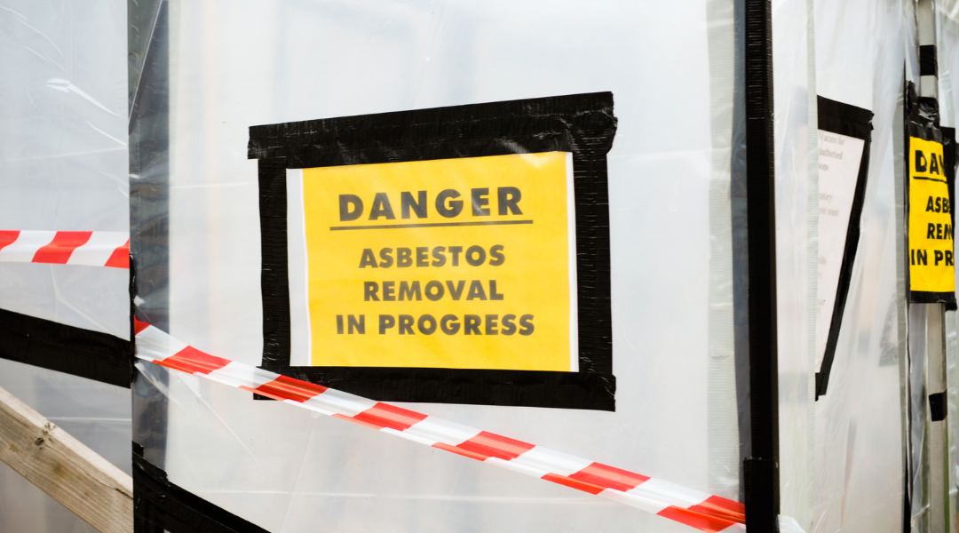 Asbestos Removal in Process